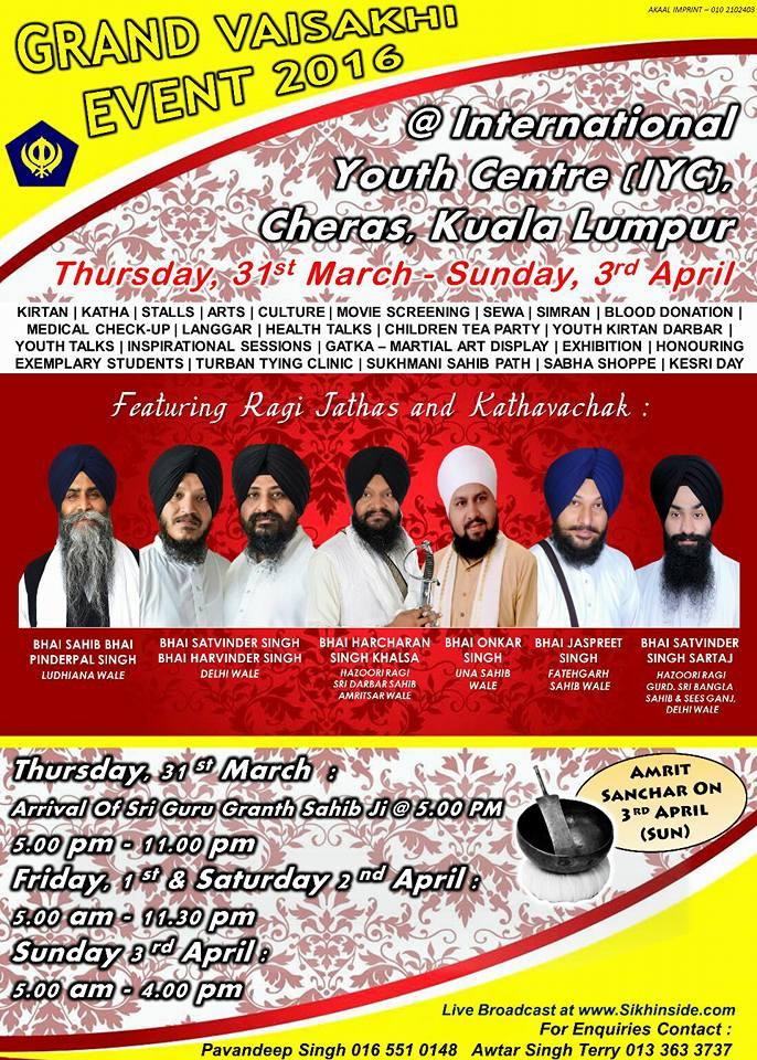 Grand Vaisakhi Event