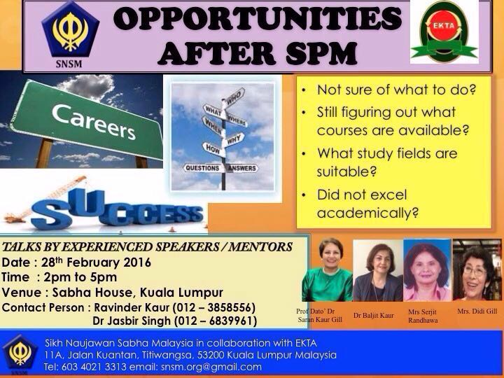 Opporcunities After SPM