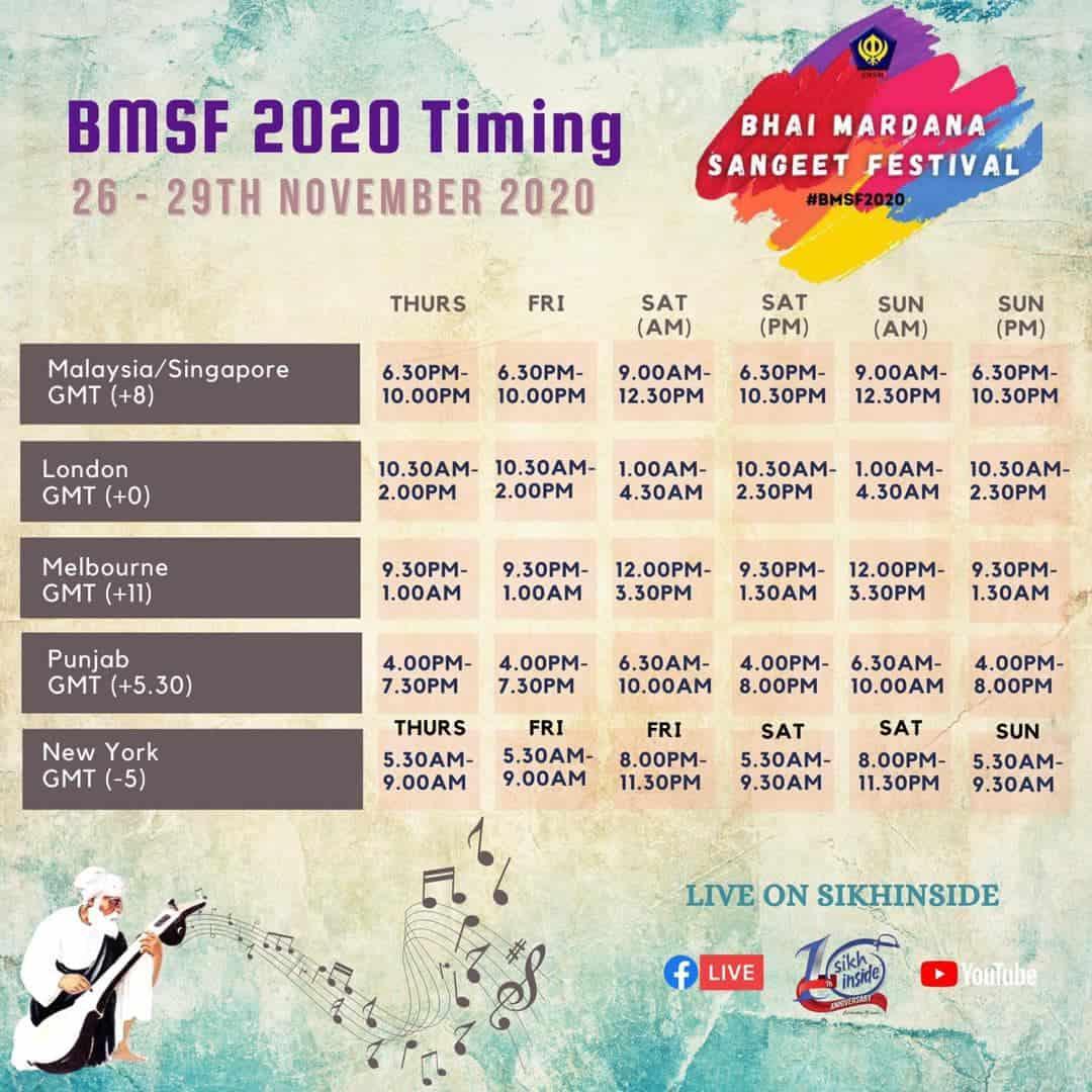 Bhai Mardana Sangeet Festival 2020
